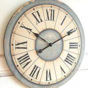 Reloj de Pared de Madera Shabby Chic