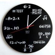 Reloj de Diseño de Operaciones Matemáticas