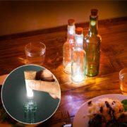 Lampara LED de Botella de Vino para el mejor Ambiente