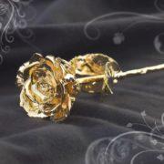 Rosa de Oro como idea de regalo