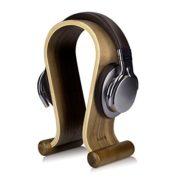 Soporte de Madera para Auriculares -regalo con estilo para los amantes de la música