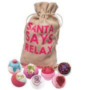 "Saco con Productos de Relajación ""Santa Says Relax"""