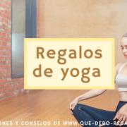 Regalos de yoga
