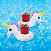 Porta-Bebidas con Forma de Unicornio